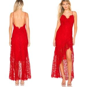 Majorelle Antoinette gown red size xs